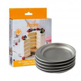 Set 4 Moldes para Layer Cake 15 cm