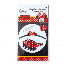 Set 4 Orejitas Minnie Mouse