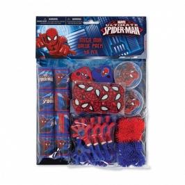 Set 48 Regalos para Piñata Spiderman