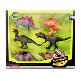 Set 6 Dinosaurios Modelo A