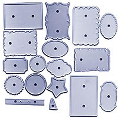 Set de Cortadores Placas y Etiquetas (17 uds)