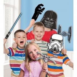 Set de 10 Accesorios para Photocall Star Wars