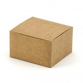 Set de 10 Cajas Kraft
