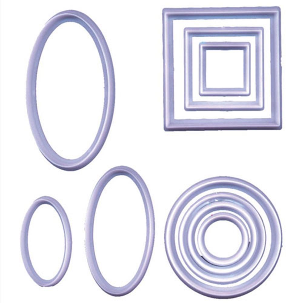 Set de 10 Cortadores Geométricos
