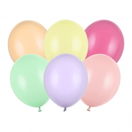 Set de 100 Globos Multicolor 23cm