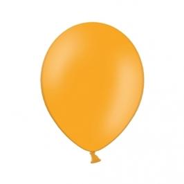 Set de 100 Globos Naranja Pastel 23cm