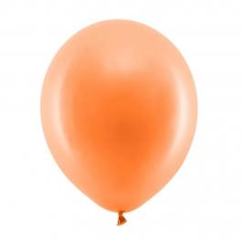 Set de 100 Globos Naranjas 23 cm