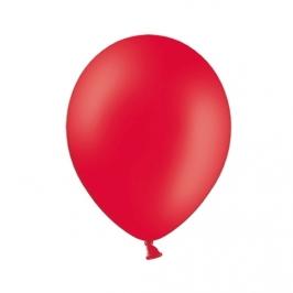 Set de 100 Globos Rojo Pastel 23cm