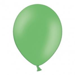 Set de 100 Globos Verde Pastel 23 cm
