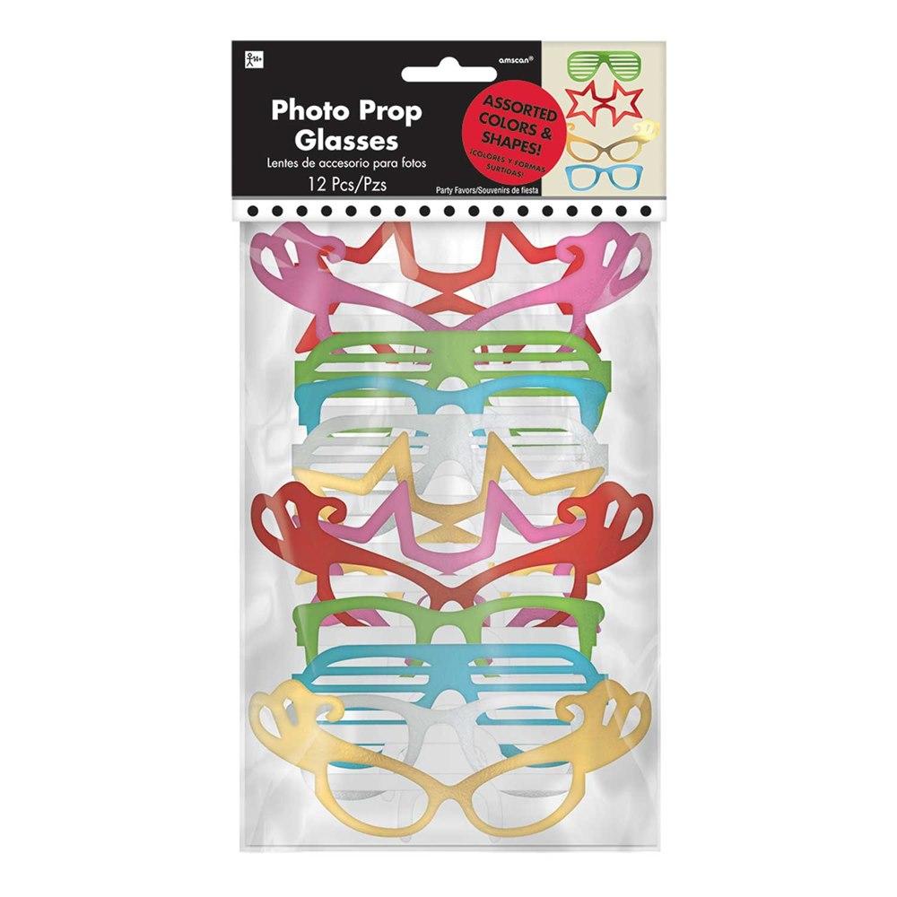 Set de 12 Gafas Surtidas para Photocall