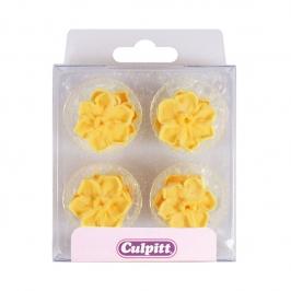 Set de 12 Narcisos de Azúcar Amarillos