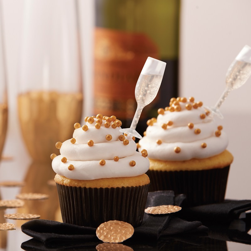 Set de 12 pipetas copa de champagne my karamelli for Copas para champagne