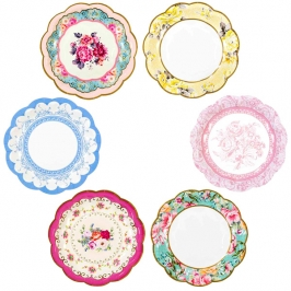 Set de 12 Platos Trully Scrumptious 17cm