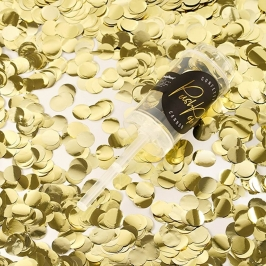 Set de 12 Push Pop Confetti Oro