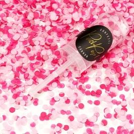 Set de 12 Push Pop Confetti Rosa Mix
