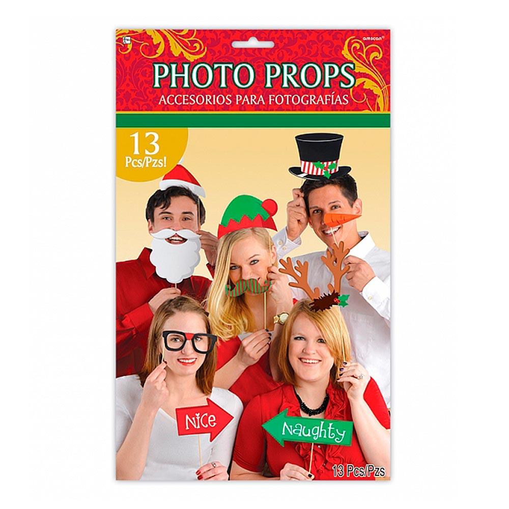 Set de 13 Accesorios para Photocall Dulce Navidad