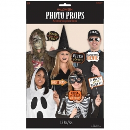 Set de 13 Accesorios para Photocall Halloween