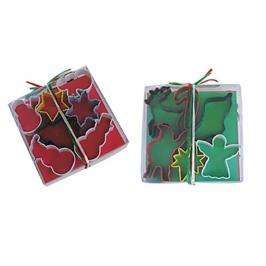 Set de 13 cortadores metálicos especiales navidad