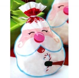 Set de 15 bolsitas para dulces Santa Claus