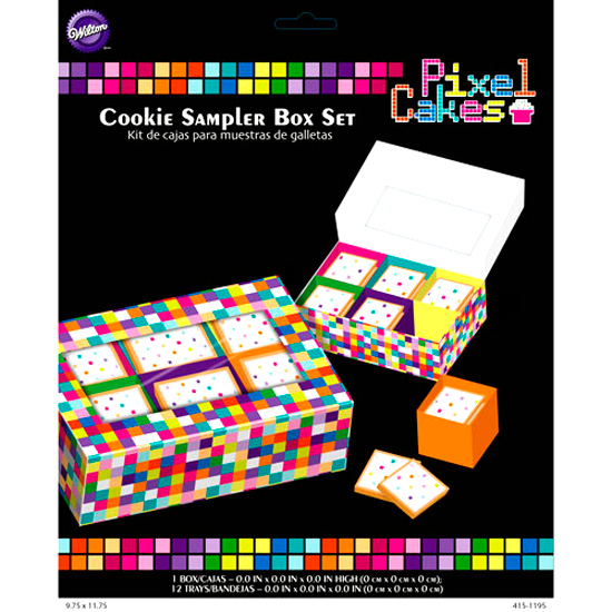 Set de 2 Cajas con Separadores Modelo Píxel