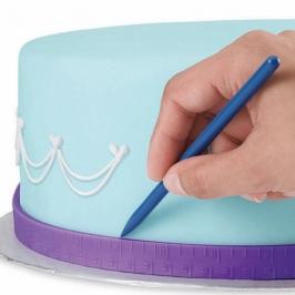 Set de 2 cintas métricas para medir pasteles