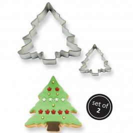 Set de 2 Cortadores Árbol de Navidad