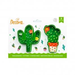Set de 2 Cortadores Cactus