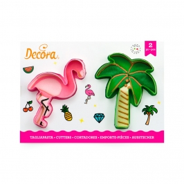 Set de 2 Cortadores Fiesta Tropical