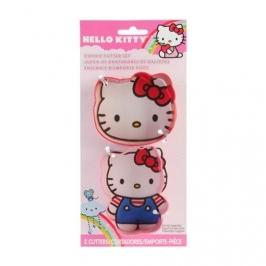 Set de 2 cortadores Hello Kitty