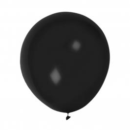 Set de 2 Globos Negros 50 cm