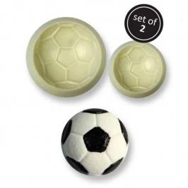 Set de 2 moldes Balón de Fútbol