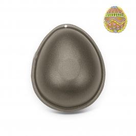 Set de 2 moldes Forma de Huevo 10 cm