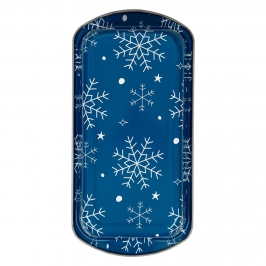 Set de 2 Moldes para Pan Bake and Bring Copo de Nieve