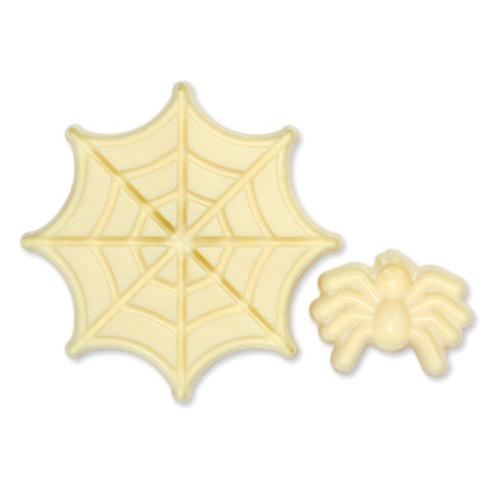 Set de 2 Moldes Telaraña y Araña