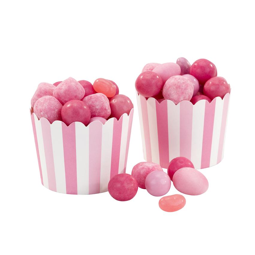 Set de 20 cápsulas Candy Rosas