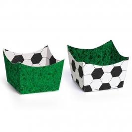 Set de 24 Mini Recipientes para Dulces Fútbol