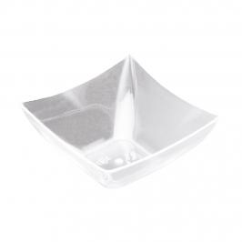 Set de 25 tarrinas transparentes de 90 ml