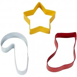 Set de 3 Cortadores Navidad