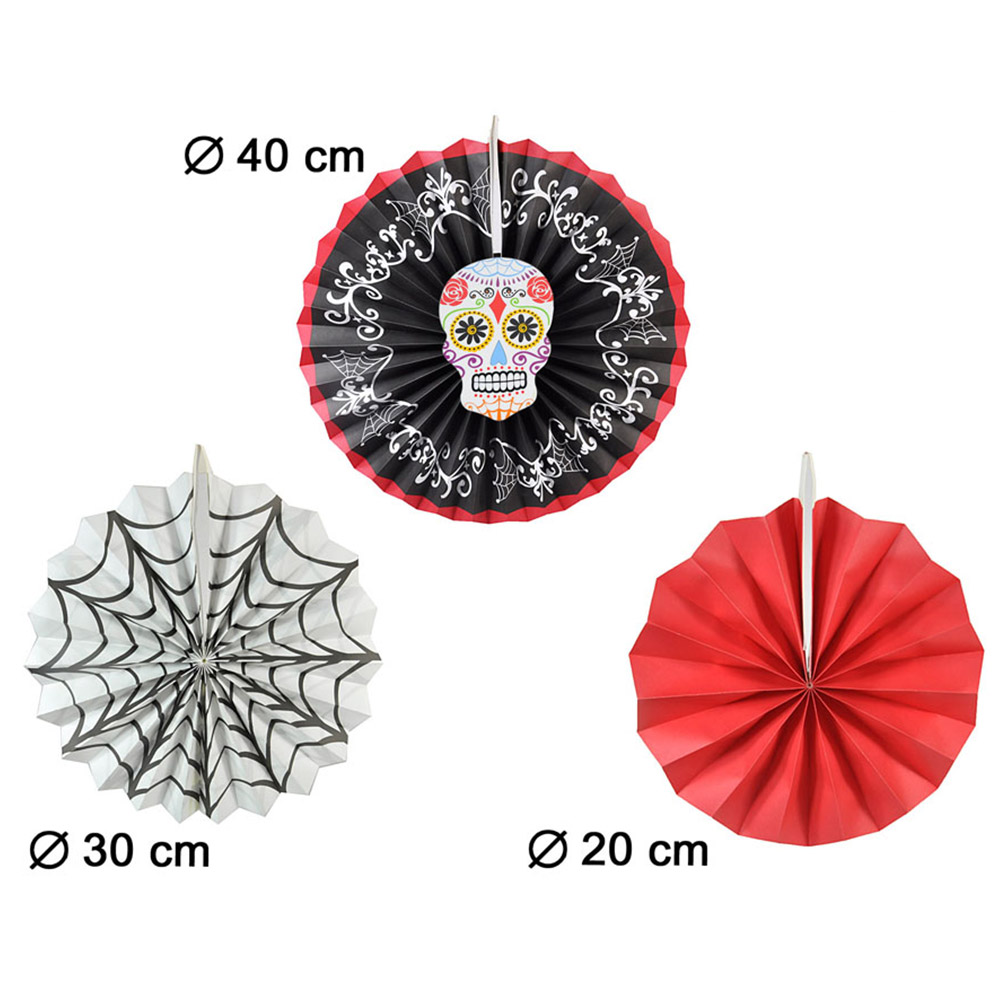 Set de 3 Farolillos Halloween