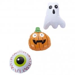 Set de 3 Mini Inflables Halloween 15 cm