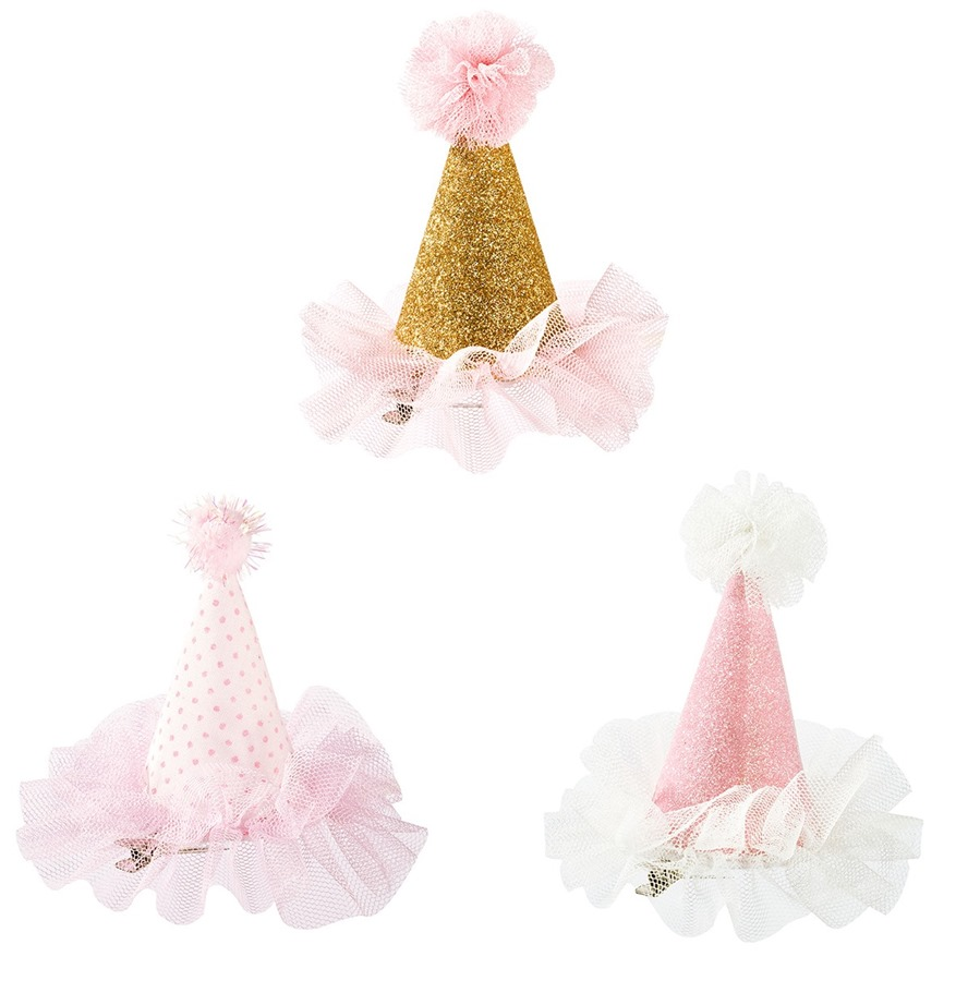 Set de 3 mini sombreritos para fiestas