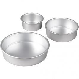Set de 3 moldes apilables Wilton