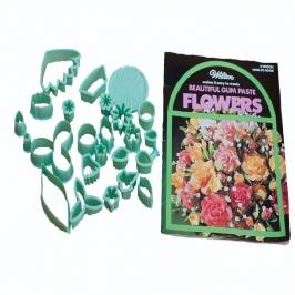 Set de 32 piezas para realizar flores de pasta de goma