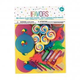 Set de 36 juguetes variados para piñata