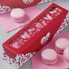 Set de 4 cajas para dulces San Valentin