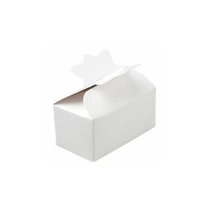 Set de 4 cajitas blancas para bombones
