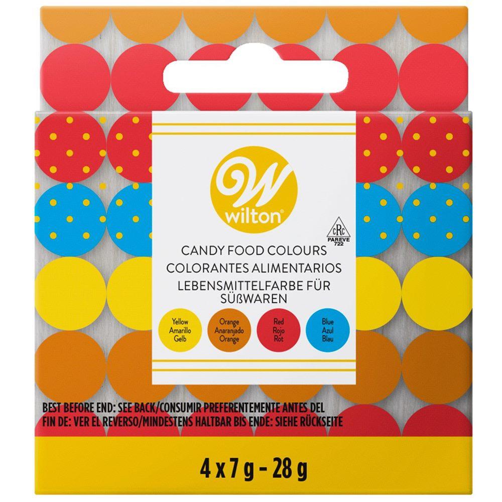 Set de 4 colorantes ideales para chocolate