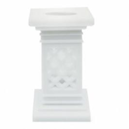 Set de 4 columnas para tartas cuadradas 7,5cm