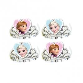 Set de 4 Tiaras Frozen Elsa y Ana