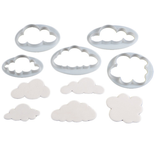 Set de 5 cortadores nubes